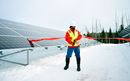 RER Energy Group and Sunvestment Celebrate the Completion of the First Community Solar project in the Adirondack Park, Saranac Lake Community Solar