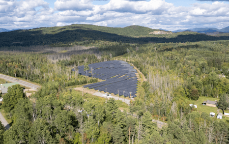 Saranac Lake Community Solar Project of Year Finalist